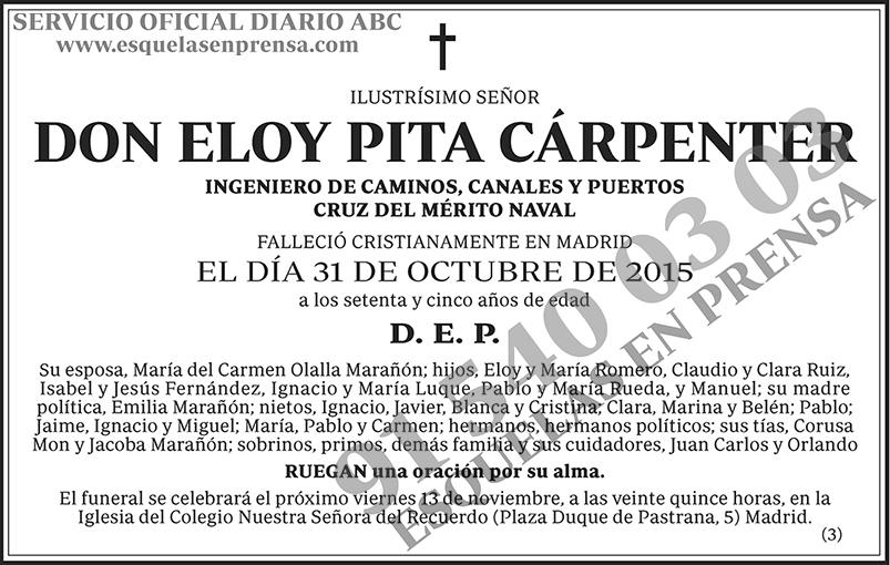 Eloy Pita Cárpenter